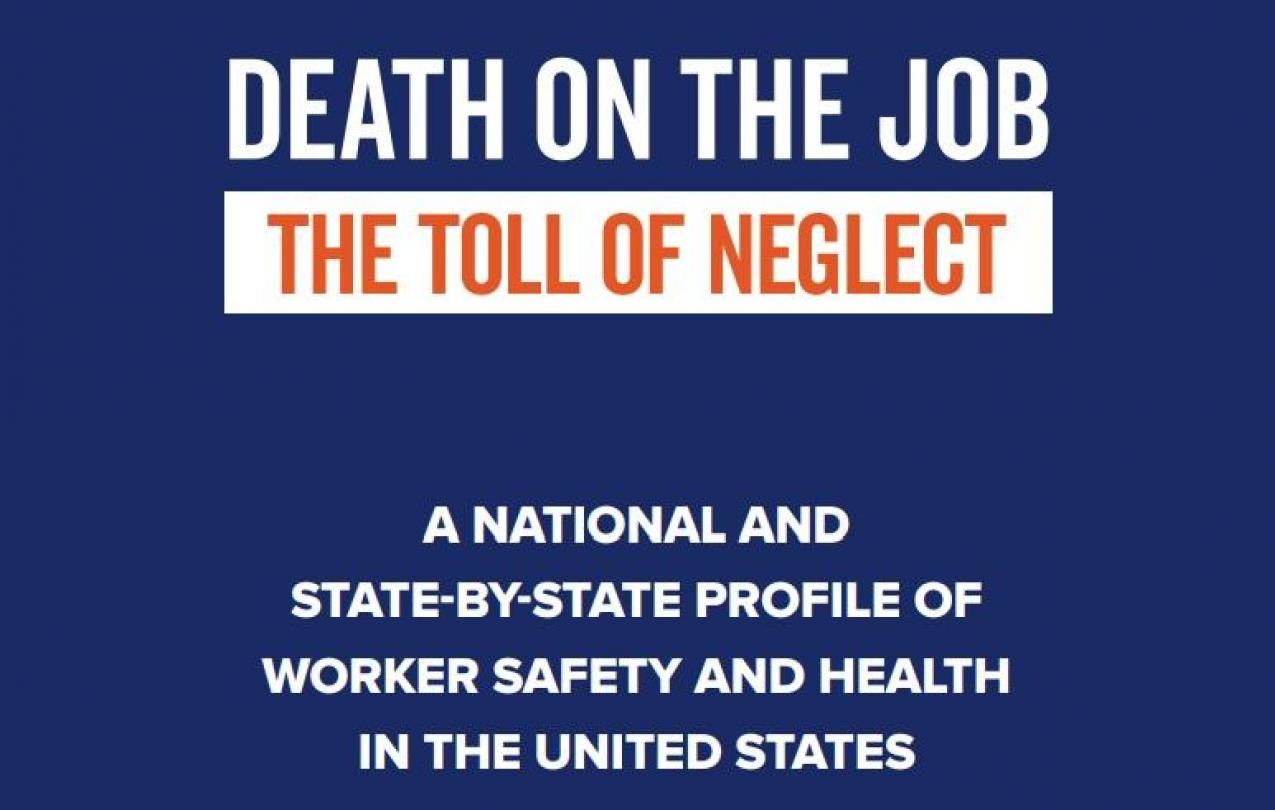 Death on the Job text