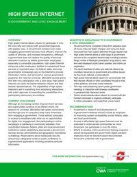 Speedmatters E-Government Fact Sheet