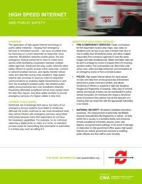 Speedmatters Public Safety Fact Sheet